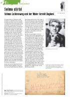 Unterrichtsmaterialen, Bogen D, Selma stirbt, Seite 1