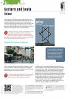 Unterrichtsmaterialen, Bogen G, Gestern und heute, Seite 1