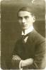 altes schwarz-weiß Foto von Max Meerbaum, Selmas Vater, als jungem Mann